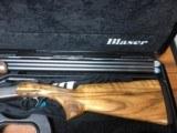 """Blaser F16 Sport 32"""" Grade 4 Wood 12 GA"""