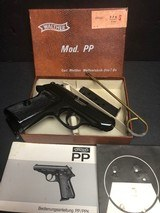 Walther (German Made) PPK/S as new in box