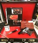 1966 Walther PPK with James Bond Brief Case From Russia with Love