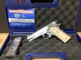 Colt Commander Custom Shop Engraved