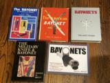 Five bayonet collecting reference books