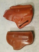 Walther PPK leather holsters -- OLD SCHOOL
