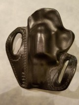 """Kramer Leather Belt Scabbard Holster for Colt Cobra 2"""" Revolver - clearance - 2 of 3"""