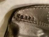 """Kramer Leather Belt Scabbard Holster for Colt Cobra 2"""" Revolver - clearance - 3 of 3"""