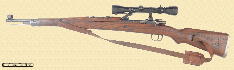 YUGOSLAVIAN M48 MAUSER SNIPERS RIFLE