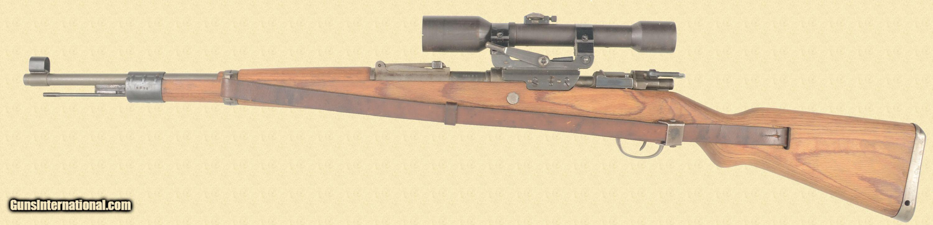 MAUSER K98 LONG SIDE RAIL SNIPERS RIFLE
