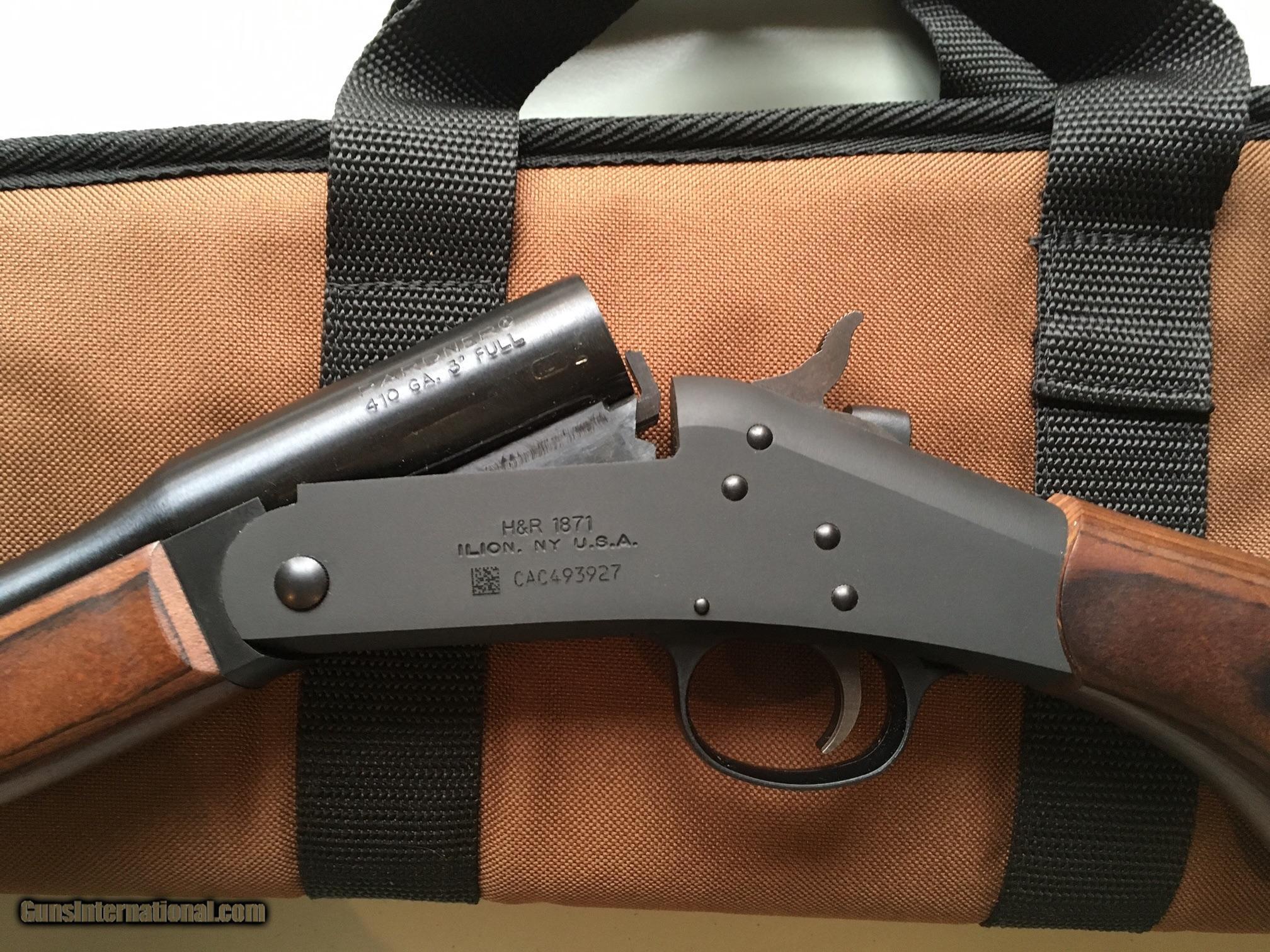 Harrington & Richardson Pardner Compact .410 gauge Single ...  Harrington & Ri...