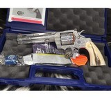 Colt New Python Master Hand Engraved, 6inch, .357 Magnum