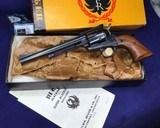 ruger blackhawk, 3 digit sn, boxed. .30 carbine