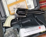 NIB Old Model Ruger Vaquero, .45 Colt W/.45 acp Cylinder - 8 of 10