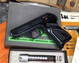 H&K 4 ,380 acp with .22LR Conversion, boxed - 11 of 13