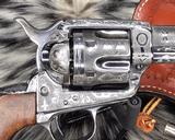 1907 Colt SAA, .45 Colt Cattle Brand Engraved - 2 of 15