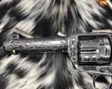 1907 Colt SAA, .45 Colt Cattle Brand Engraved - 12 of 15