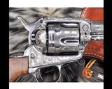 1907 Colt SAA, .45 Colt Cattle Brand Engraved - 7 of 15