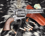 1907 Colt SAA, .45 Colt Cattle Brand Engraved - 13 of 15