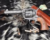 1907 Colt SAA, .45 Colt Cattle Brand Engraved - 4 of 15