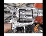 1907 Colt SAA, .45 Colt Cattle Brand Engraved - 9 of 15