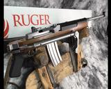 New Ruger Mini-14, 5.56 NATO, Samson Folder, NIB.Stainless Steel