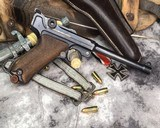 1917 DWM Navy Luger, Matching