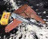 Pre-War Swiss Luger with Holster, matching numbers
