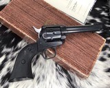 1958 Colt Frontier Scout ,boxed with colt Letter