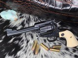 1972 Custom Ruger BlackHawk ,.44 Special, 3 Screw, Ivory Grips