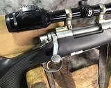 Remington 700 , Embellished Stainless DBM ,7mm Magnum, W/Pentax Banner Scope - 14 of 20