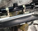 Remington 700 , Embellished Stainless DBM ,7mm Magnum, W/Pentax Banner Scope - 18 of 20