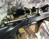 Remington 700 , Embellished Stainless DBM ,7mm Magnum, W/Pentax Banner Scope - 4 of 20