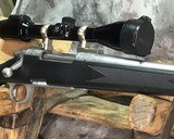Remington 700 , Embellished Stainless DBM ,7mm Magnum, W/Pentax Banner Scope - 11 of 20