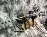 Remington 700 , Embellished Stainless DBM ,7mm Magnum, W/Pentax Banner Scope - 2 of 20