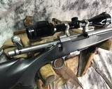 Remington 700 , Embellished Stainless DBM ,7mm Magnum, W/Pentax Banner Scope - 8 of 20