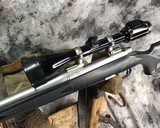 Remington 700 , Embellished Stainless DBM ,7mm Magnum, W/Pentax Banner Scope - 5 of 20