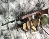 WWII 1943 1944 INLAND US CARBINE M1 CAL 30 RIFLE - 20 of 20