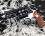 Smith & Wesson model 19-3 ,2.5 inch, Combat Magnum