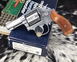 Smith & Wesson model 65, 3 inch. Stainless .357 Magnum, Boxed
