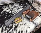 Browning, International Medalist .22 LR Target, Pistol New Old Stock - 15 of 16