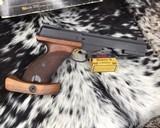 Browning, International Medalist .22 LR Target, Pistol New Old Stock - 12 of 16