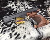 Browning, International Medalist .22 LR Target, Pistol New Old Stock - 1 of 16