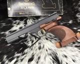 Browning, International Medalist .22 LR Target, Pistol New Old Stock - 9 of 16