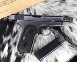 1903 Colt Pocket Hammerless Pistol, made 1918, .32 ACP - 6 of 10