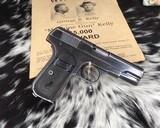 1903 Colt Pocket Hammerless Pistol, made 1918, .32 ACP - 7 of 10