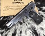 1903 Colt Pocket Hammerless Pistol, made 1918, .32 ACP - 4 of 10