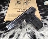 1903 Colt Pocket Hammerless Pistol, made 1918, .32 ACP - 10 of 10