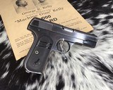 1903 Colt Pocket Hammerless Pistol, made 1918, .32 ACP - 8 of 10