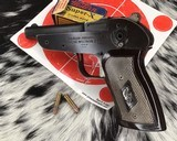 Sheridan Knocabout .22 SLLR Single Shot Pistol - 1 of 9