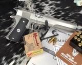 AMT Javelina Longslide Hunter, 10mm Pistol, Stainless Steel