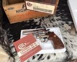 1982 Colt Trooper MKIII, Nickel, 4 inch, Boxed - 13 of 21