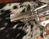1982 Colt Trooper MKIII, Nickel, 4 inch, Boxed - 9 of 21