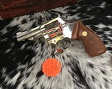 1982 Colt Trooper MKIII, Nickel, 4 inch, Boxed - 5 of 21